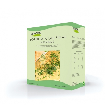 Kalodiet, Tortilla de finas hierbas caja 7 sobres