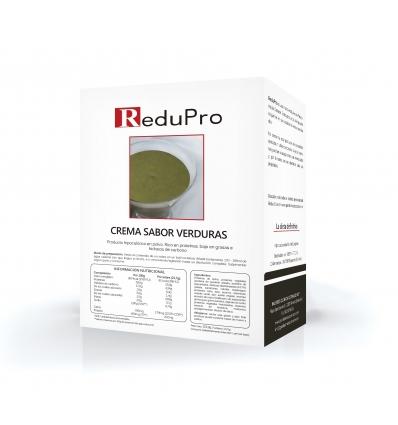 ReduPro SOPA Cremosa de Verduras, caja 7 sobres