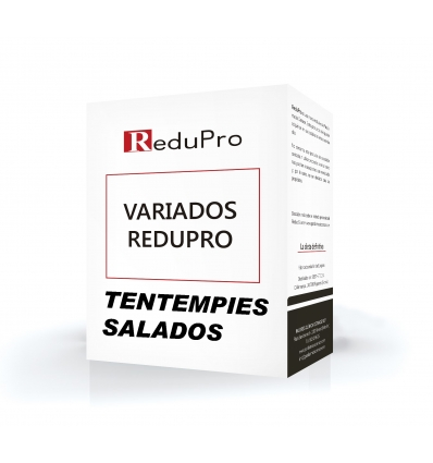 .ReduPro Surtido de Tentempiés SALADOS de Fase 1. 9 unidades