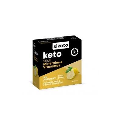 Siketo Sticks minerales y vitaminas, caja con 20 sticks