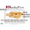 ReduPro Tentacion Biscuits o Melindros o bizcochos de soletilla caja de 20 unidades.