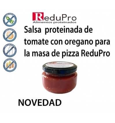 ReduPro Salsa proteinada de tomate y oregano para la base de pizza ReduPro 1 unidad