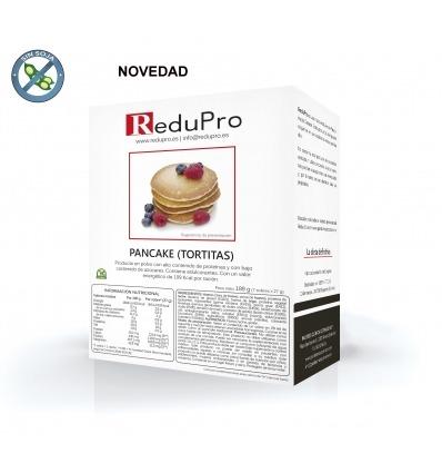 ReduPro Pancake Tortita Natural, caja con 7 sobres