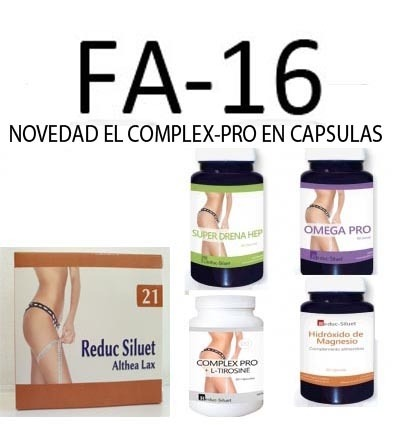 Pack FA 16 Complementos Fases Activas con OBESIDAD Y ESTREÑIMIENTO SEVERO