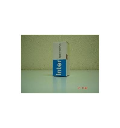 Hoja con tablas para anotar resultados de la acetona