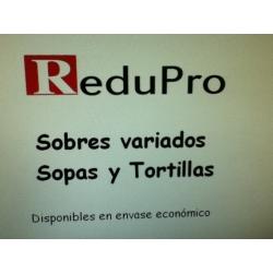 .ReduPro Surtido Sopas y Tortillas, 6 sobres