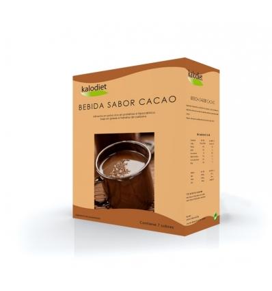 Kalodiet, Chocolate caliente o frio caja de 7 sobres