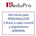 Kits inicio para PERSONALIZAR y realizar CONTROL Y SEGUIMIENTO